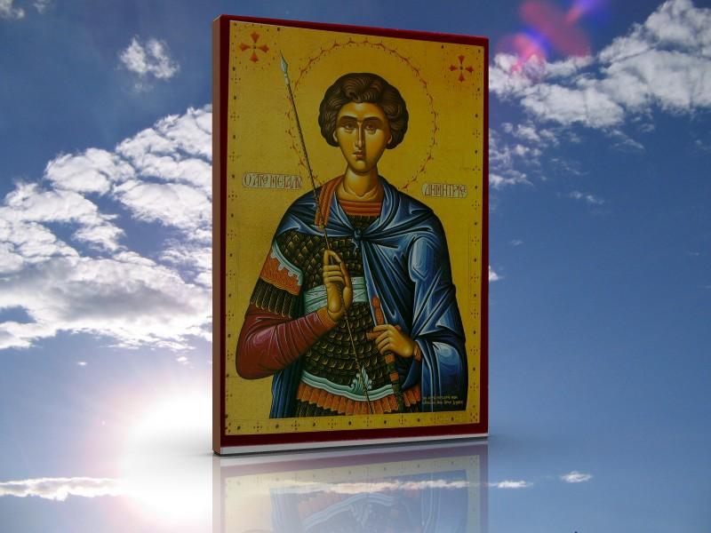 Sf.Mare Mucenic Dimitrie, Izvorâtorul de Mir