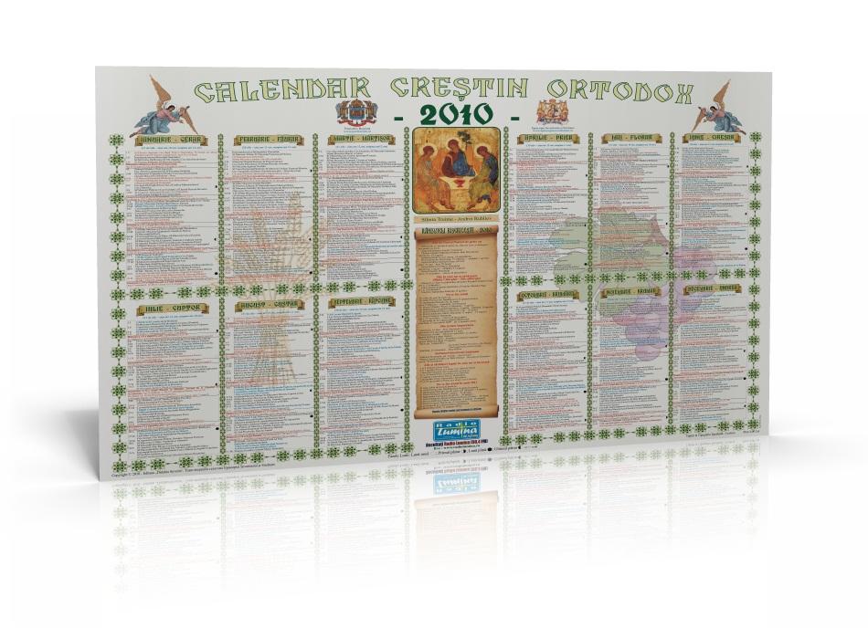 Calendar ortodox 2010